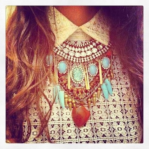 Collier XXL ultra tendance
