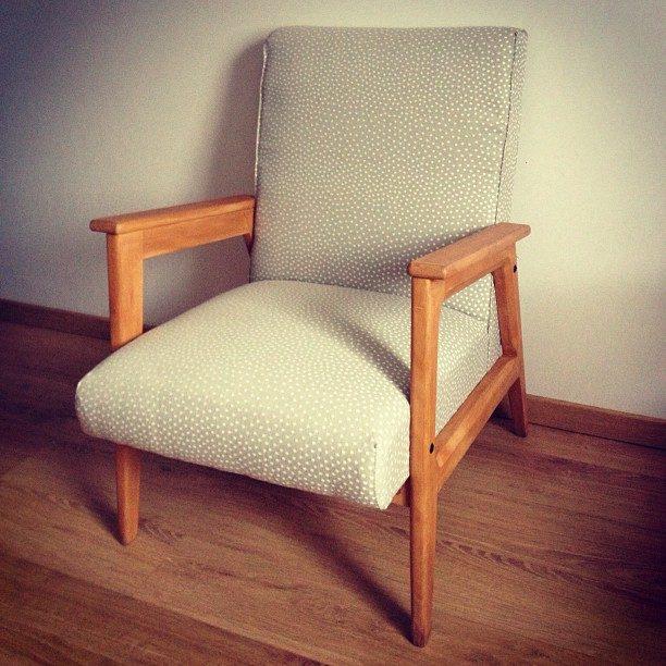 fauteuil scandinave vintage bublu je l 39 ai miss ambre. Black Bedroom Furniture Sets. Home Design Ideas