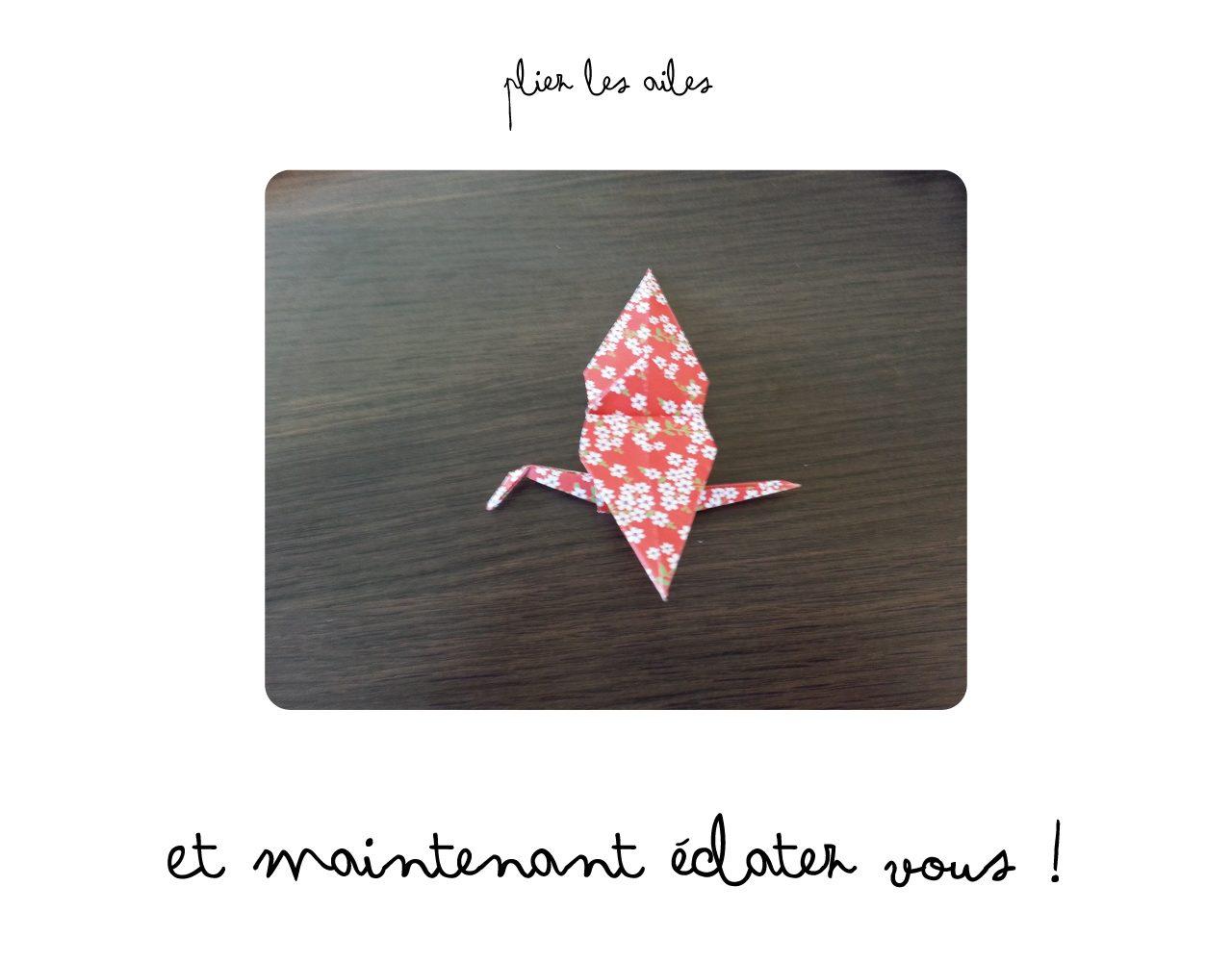 Diy Tuto Origami Grue Miss Ambre