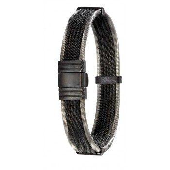 331,50 € Bracelet Albanu cable et acier