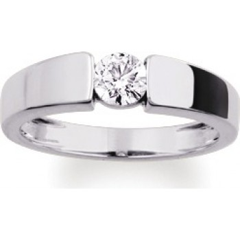 3389 € solitaire or blanc diamant