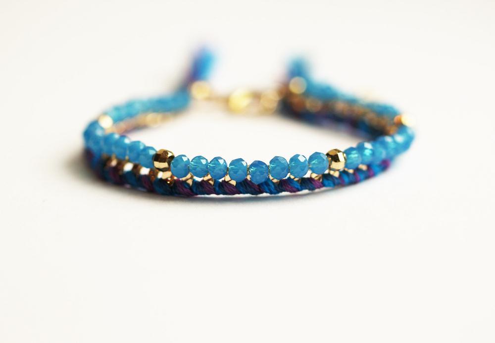 bracelet Brasilia bleu