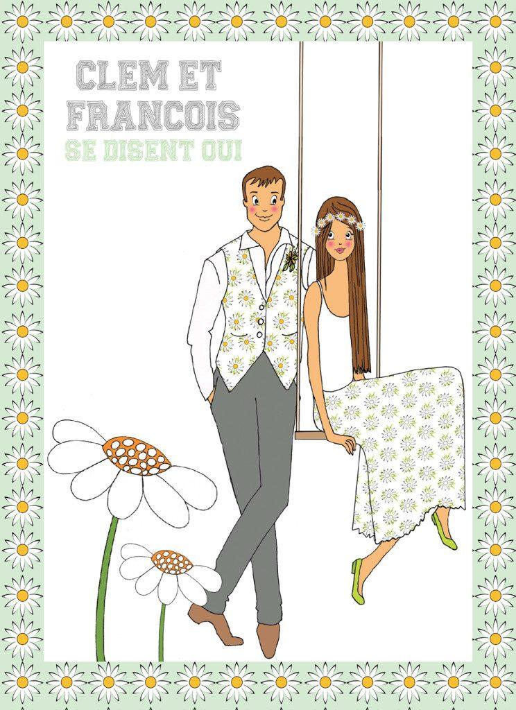 Clémentine et François